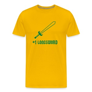 +1 Longsword - Men's Premium T-Shirt
