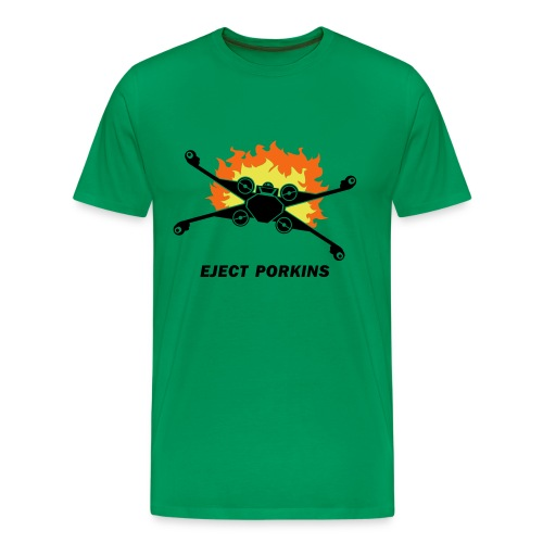 Eject Porkins - Men's Premium T-Shirt