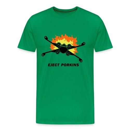 Eject Porkins - Men's Premium T-Shirt