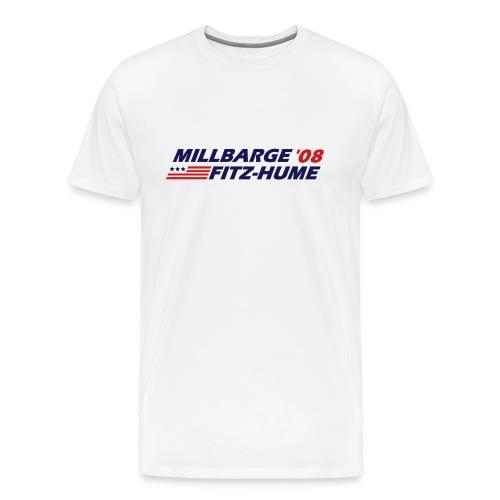Millbarge - Fitz-Hume 2008 - Men's Premium T-Shirt