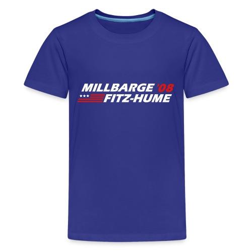Millbarge - Fitz-Hume 2008 - Kids' Premium T-Shirt