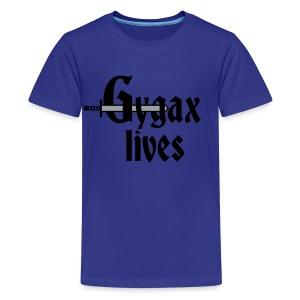 Gygax Lives - Kids' Premium T-Shirt
