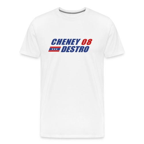 Cheney - Destro 2008 - Men's Premium T-Shirt