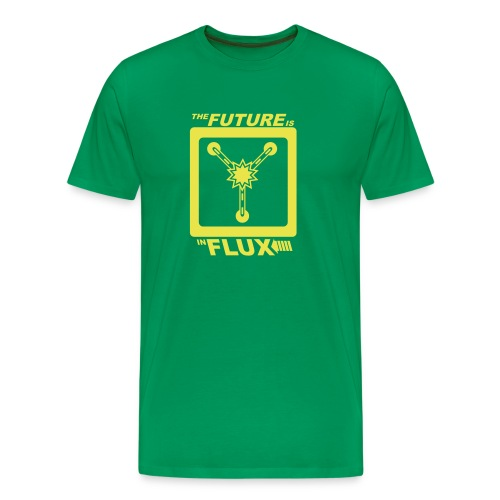 The Future is in Flux - Men's Premium T-Shirt