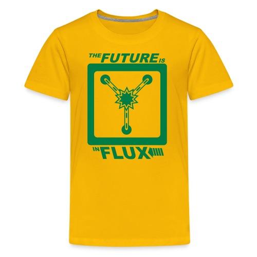 The Future is in Flux - Kids' Premium T-Shirt