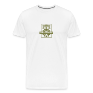 T-Shirts ~ Men's Premium T-Shirt ~ Official MC Brand Gold