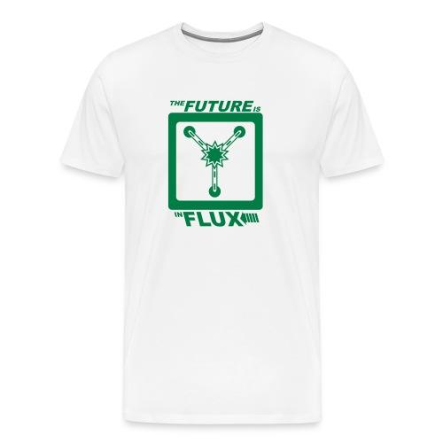 The Future is in Flux - Men's Premium T-Shirt