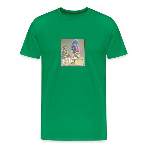 Ancient Maya characters - Men's Premium T-Shirt