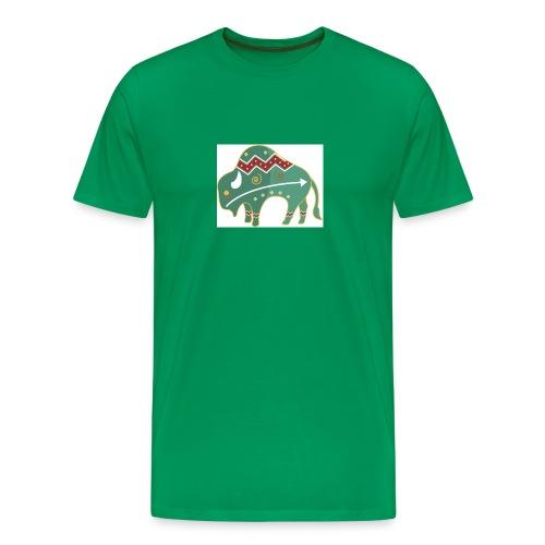 Mystical Buffalo - Men's Premium T-Shirt