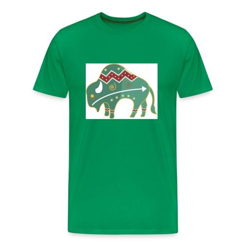 Spirit Buffalo - Large - Men's Premium T-Shirt