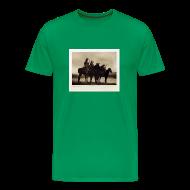 T-Shirts ~ Men's Premium T-Shirt ~ Custer's Crow Scouts