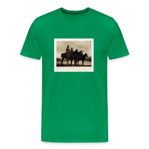 Custer's Crow Scouts - Men's Premium T-Shirt