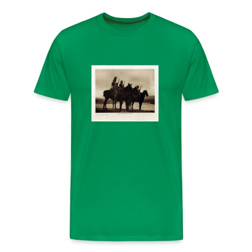 Custer's Crow Scouts - Men's Premium T-Shirt