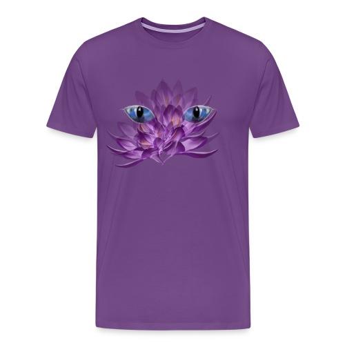 Cats Eyes and Crocus - Men's Premium T-Shirt