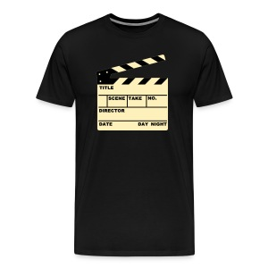 Clap Board - Men's Premium T-Shirt