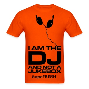Respect the DAMN DJ - Men's T-Shirt