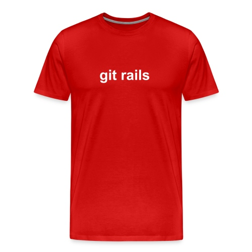 git rails - Men's Premium T-Shirt