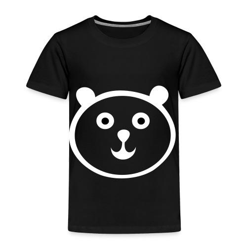 Panda Bear Toddler Tee - Toddler Premium T-Shirt