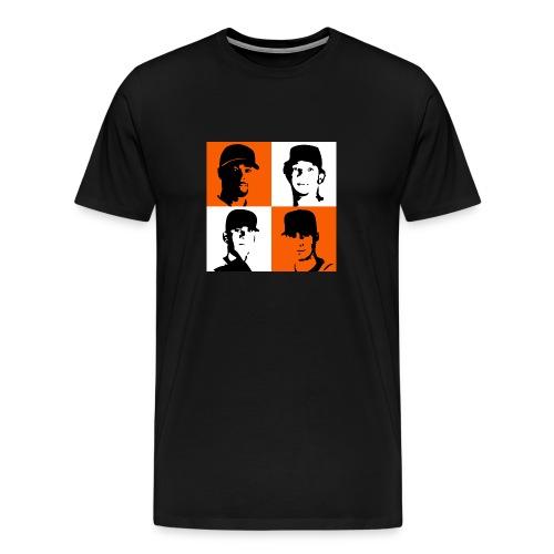 Rotation Tee Black - Men's Premium T-Shirt