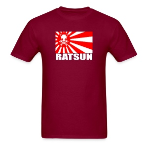 Large Ratsun Flag On Front - Men's T-Shirt