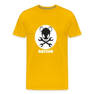 Large Ratsun Logo On Front - Men's Premium T-Shirt