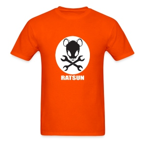 Large Ratsun Logo On Front - Men's T-Shirt