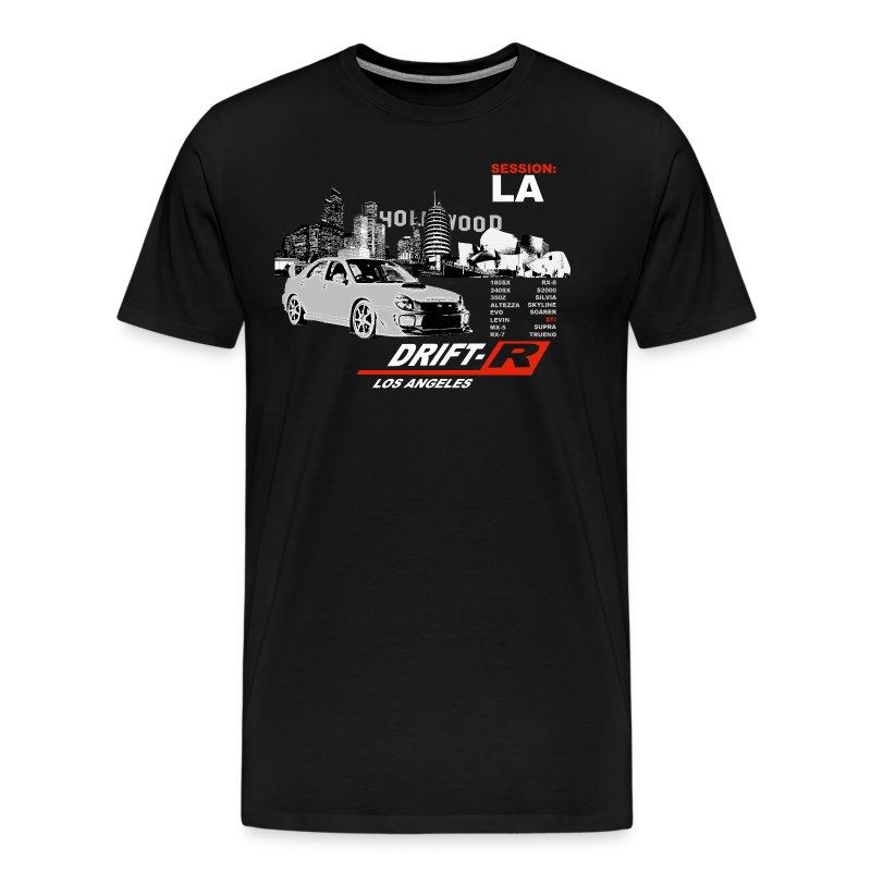 Drift r los angeles t shirt spreadshirt for Los angeles california shirt