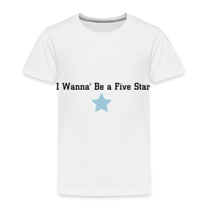 Five Star Kid - Toddler Premium T-Shirt