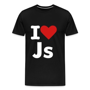 I love Js - Men's Premium T-Shirt