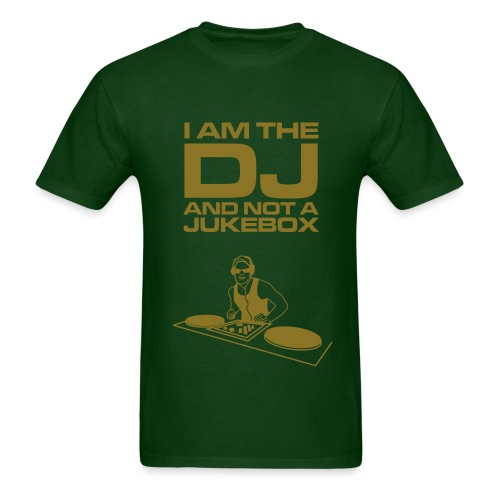 i am the dj - Men's T-Shirt