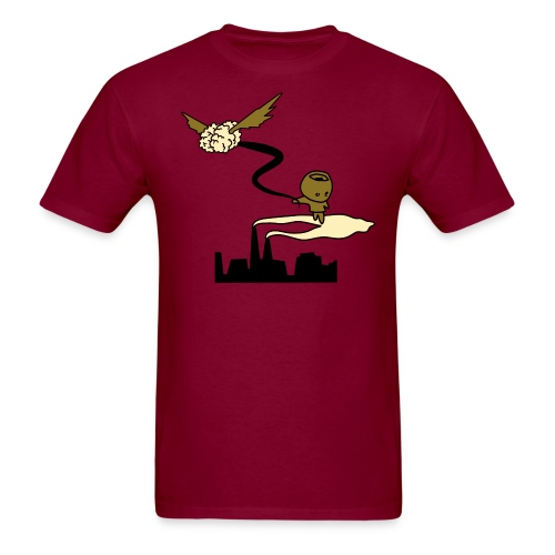Men's T-Shirt - t-shirts,t-shirt,metallic,illustration,graphic,cartoon,art