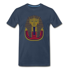 Tutankhamun Mask - Guest Design (metallic) - Men's Premium T-Shirt
