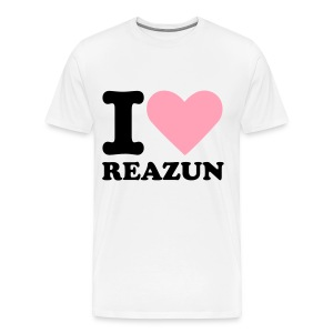 I Love Reazun T! - Men's Premium T-Shirt