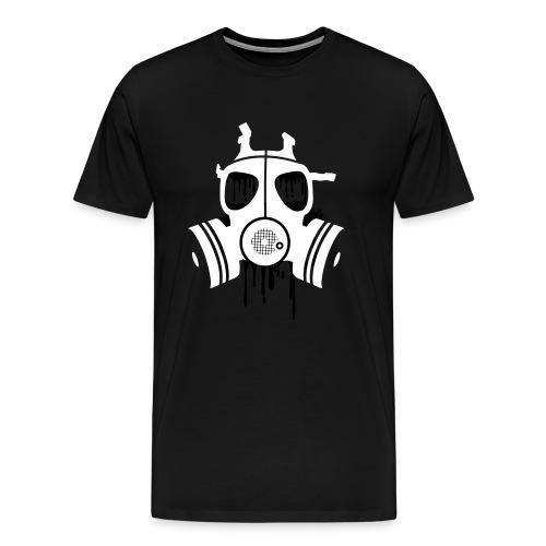 White Gas Mask - Men's Premium T-Shirt