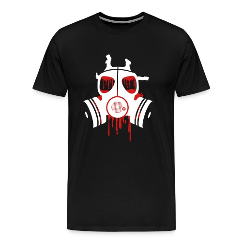 Bloody gas mask - Men's Premium T-Shirt
