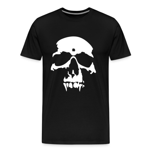 skull design - Men's Premium T-Shirt