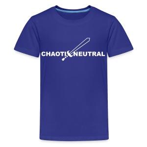 Chaotic Neutral - Kids' Premium T-Shirt