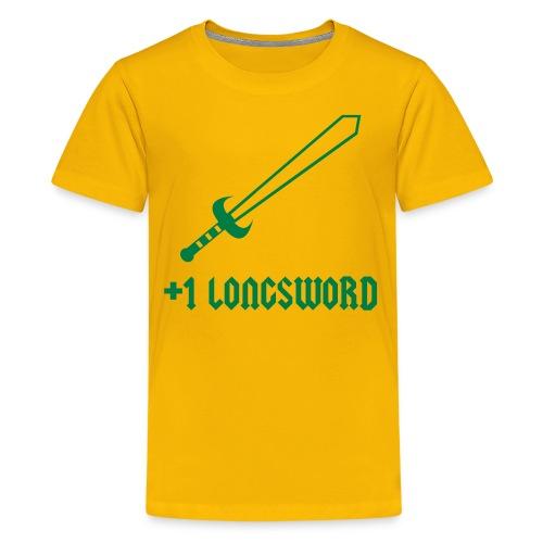 +1 Longsword - Kids' Premium T-Shirt