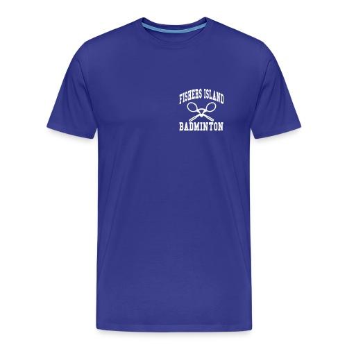 Fishers Island Badminton - Men's Premium T-Shirt