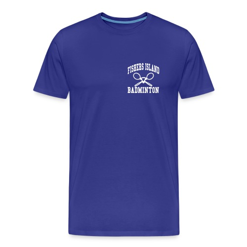 Fishers Island Badminton - Men's Premium T-Shirt