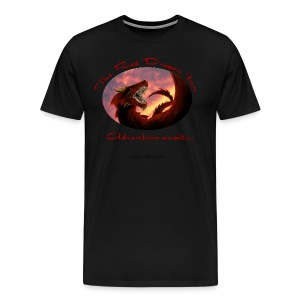 Red Dragon Inn 3XL Logo Tee - Men's Premium T-Shirt
