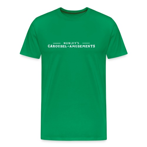 Nunley's Carousel and Amusements - Men's Premium T-Shirt
