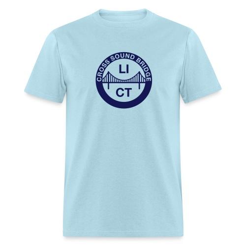 Cross Sound Bridge - Men's T-Shirt