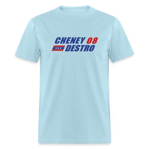 Cheney - Destro 2008 - Men's T-Shirt