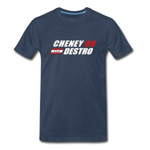 Cheney - Destro 2008 - Men's Premium T-Shirt