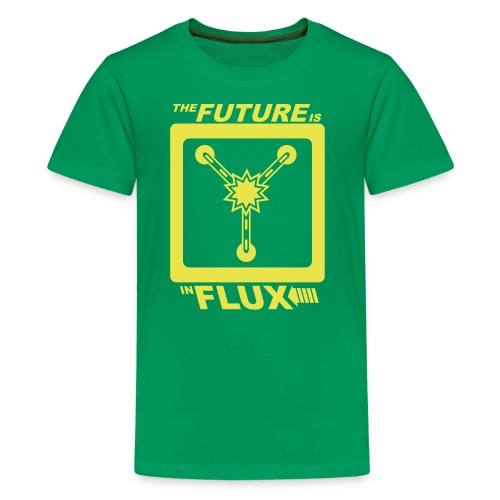 The Future is in Flux - Kids' Premium T-Shirt