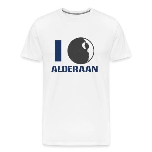 I (DS) Alderaan - Men's Premium T-Shirt