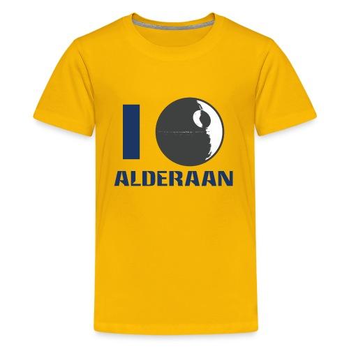 I (DS) Alderaan - Kids' Premium T-Shirt