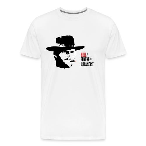Hell is Coming to Breakfast - Men's Premium T-Shirt