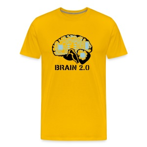 Brain v2.0 - Men's Premium T-Shirt